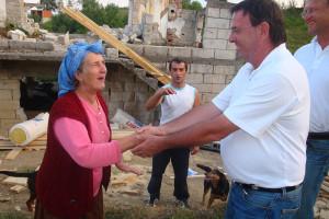 Nick Kraguljac in Srebrenica